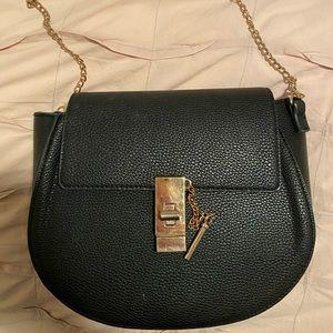 Lulu's black chloe dupe purse